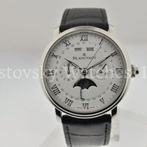 Blancpain Villeret Complete Calendar Steel 40mm White United States of America, California, Beverly Hills