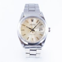 Rolex Oyster Precision pre-owned 34mm Steel