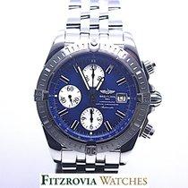 Breitling Chronomat Blue Dial A13356