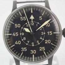 Laco B Uhr FL 23883 Beobachtungsuhr aus 1943 #A3415 mit Box
