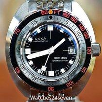 Doxa Sub Professional 300 Sharkhunter Black Dial Special...