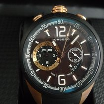 Bomberg 1968 Steel 44mm Red Arabic numerals