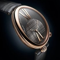 Breguet Reine de Naples Rose gold 35mm Grey Roman numerals