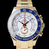 Rolex Yacht-Master II gebraucht 44mm Gelbgold