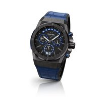 TW Steel Chronograph 44mm Quarz Blau
