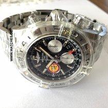 Breitling 44mm Automatik neu Chronomat 44 GMT Schwarz