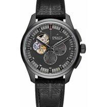 Zenith Titanium Automatic Black No numerals 45mm new El Primero Chronomaster