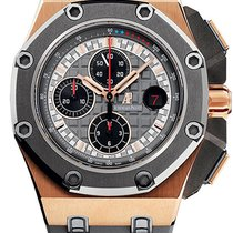 Audemars Piguet Royal Oak Offshore Chronograph Roségold 44mm Grau Keine Ziffern