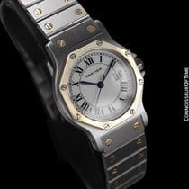 Cartier Santos (submodel) pre-owned 38mm White Gold/Steel