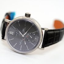 IWC Portofino Hand-Wound White gold 45mm Grey
