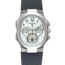 Philip Stein Steel 42mm Quartz Signature new
