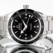 Omega Seamaster 300 pre-owned 41mm Black Textile