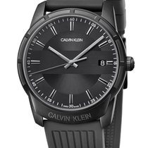 ck Calvin Klein Steel 42mm Quartz K8R114D1 new