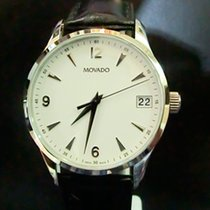 Movado Circa Staal 40mm Wit
