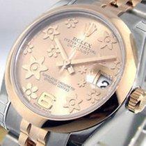 Rolex Datejust, Ref. 178241 - rosa floral arabisch ZB/Jubileeband