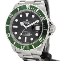 Rolex Oyster Perpetual Date Submariner 16610LV With Paper