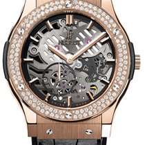 Hublot Classic Fusion Ultra-Thin Rose gold United States of America, New York, Brooklyn