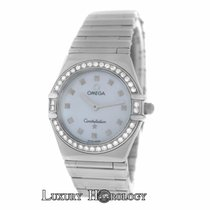 Omega Mint Lady Constellation My Choice 895.1241 Diamond MOP