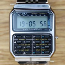 Casio Cs-821 Calculator Chronograph / Inkl. Mwst