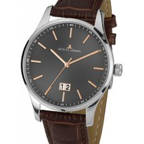 Jacques Lemans Classic London Acero 40mm Gris