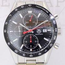 TAG Heuer Carrera Date Chronograph 1860 Calibre 16 black red...