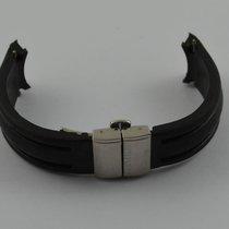 Montblanc Kautschuk 17mm Armband Mit Faltschliesse 15mm