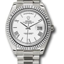 Rolex Day-Date 40 228239 Новые Белое золото 40mm Автоподзавод