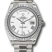 Rolex Day-Date 40 White gold 40mm White United States of America, New York, New York