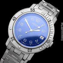 Hermès Mens Full Size Clipper Diver Quartz Watch - Stainless...