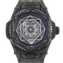 Χίμπλοτ (Hublot) Big Bang Steel Black Automatic 415.CX.1114.VR...