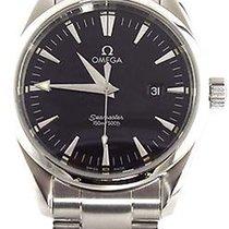 Omega Seamaster Aqua Terra Black Swiss Quartz Steel Watch 2517.50