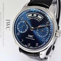 IWC Portugieser Annual Calendar 5035 44mm Steel Watch Box/Pape...