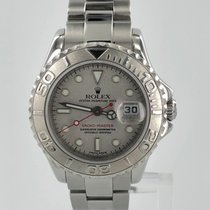 Rolex Yachtmaster Model 169622 Platinum & Stainless Steel...