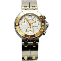 Pequignet Gold/Steel Quartz 132418 new
