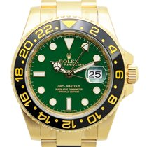 勞力士 Gmt-master II 18 K Yellow Gold Green Automatic 116718LNGREEN