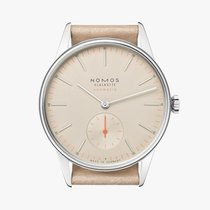 NOMOS Steel 36mm Automatic 393 new