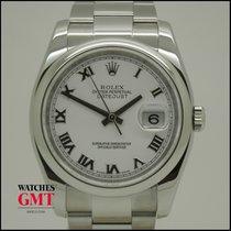 Rolex Datejust 36 White Dial 2010