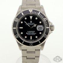 "Rolex Submariner Date| ""SWISS-T 25"" Dial Black Bezel | 16610"