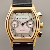 Girard Perregaux Rose gold Automatic Champagne Roman numerals 37mm pre-owned Richeville