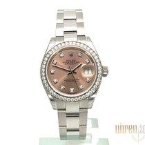 Rolex Lady-Datejust Stahl 28mm Pink Keine Ziffern Deutschland, Bietigheim-Bissingen