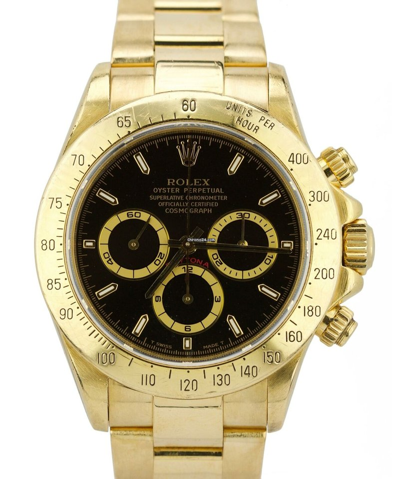Rolex Daytona Yellow Gold All Prices For Rolex Daytona Yellow Gold