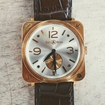Bell & Ross Rose gold Manual winding BRS-BLC-PH/SBR pre-owned Singapore, Singapore