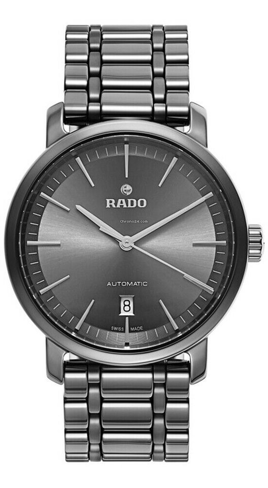 d9e79f414 Rado DiaMaster XL Plasma High-Tech Gray Ceramic Automatic... for £1,171 for  sale from a Trusted Seller on Chrono24