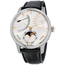 Maurice Lacroix Masterpiece Phases de Lune new Automatic Watch with original box MP6528-SS001-130-1