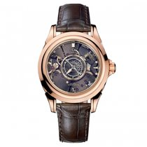 Omega De Ville Central Tourbillon Roségold 38.7mm Transparent
