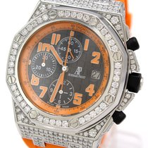 Audemars Piguet Royal Oak Offshore Chronograph Volcano Acero 42mm Naranja