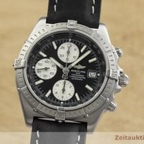 Breitling Crosswind Racing Stal 43mm Czarny