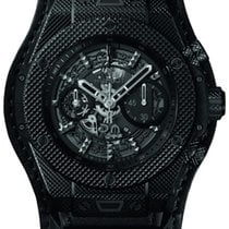 Hublot Big Bang Unico Ceramica 45mm Negru Fara cifre