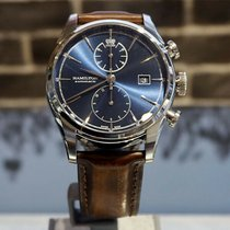 Hamilton Spirit of Liberty Acier 42mm Bleu
