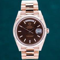 Rolex Day-Date 40 neu 2018 Automatik Uhr mit Original-Box und Original-Papieren 228235